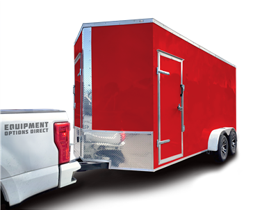 7x16 Hybrid Spray Foam Insulation Trailer