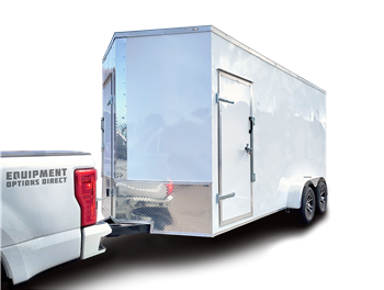 7x16 Shore Power Spray Foam Insulation Trailer