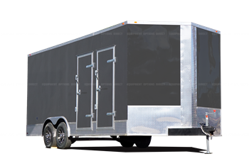 8x20 Contractor Series Spray Foam Insulation Trailer