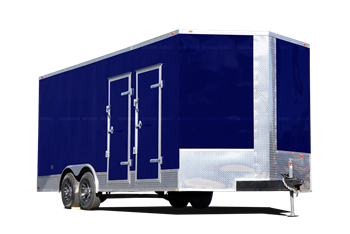 8x20 Diesel Spray Foam Insulation Trailer
