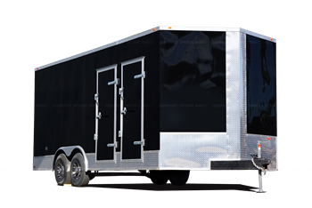 8x20 Hybrid Spray Foam Insulation Trailer