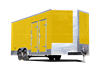 8x20 Shore Power Spray Foam Insulation Trailer